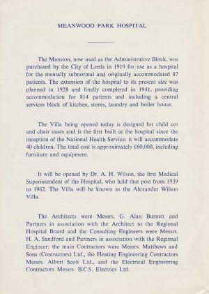 The Opening Of Alexander Wilson Villa 3