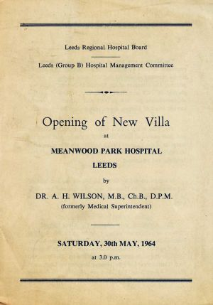The Opening Of Alexander Wilson Villa 1