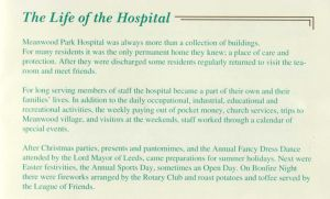 Meanwood Park Hospital 1919 - 1996