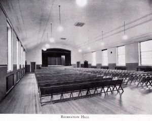 The Recreation Hall Where Douglas Met Margaret.