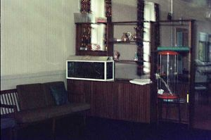Villa 14 Sitting Room, 1973