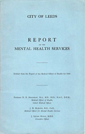 The Mental Health Services Leeds 1959 Front Cover
