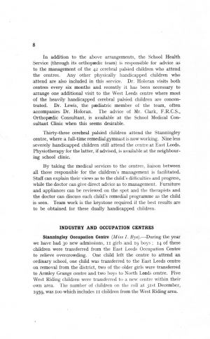 The Mental Health Services Leeds 1959 page 8