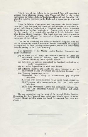 The Growth Of Meanwood Park 1932 - Page 8