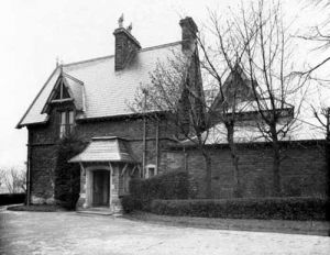 April 1937 View of 'Crooked Acres' which was, and still is owned by Leeds Community and Mental Health Trust