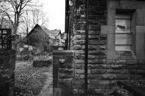 Crooked Acres Smoking Area, Jan 2009