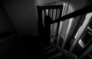 Back Stairs To Attic, Jan 2009