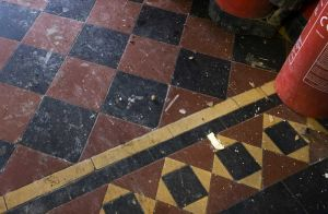 Hall Tiles, Jan 2009