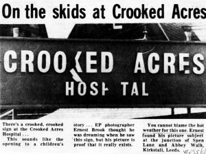 Crooked Acres. Yorkshire Evening Post 25th June 1976