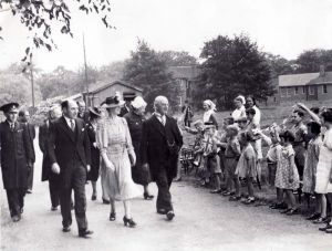 Princess Royal Inspection 1941